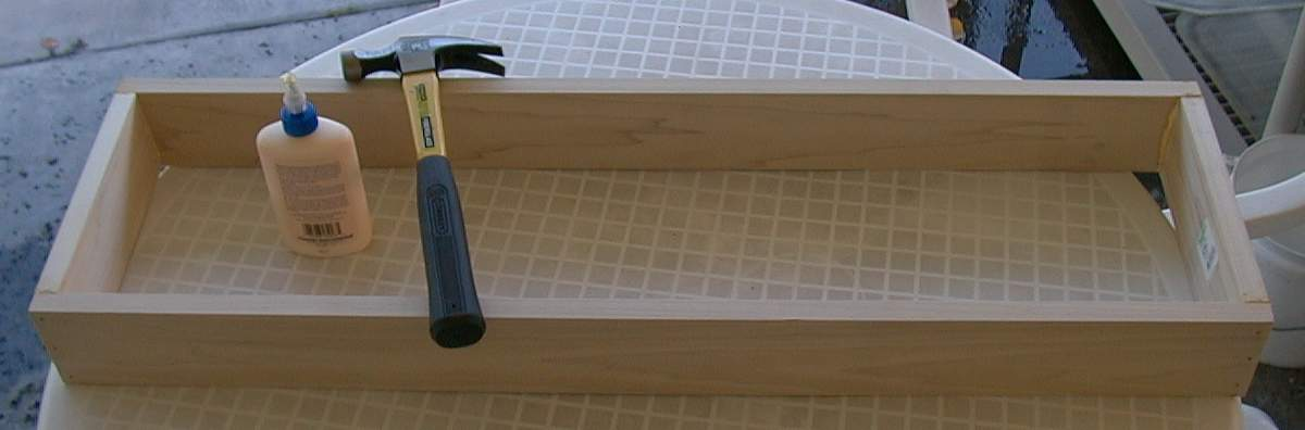 Fluorescent Light Fixtures Wood Frame - Light Fixtures